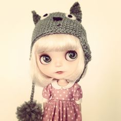 little totoro-girl, via flickr.