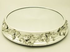 Sterling Silver Mirrored Plateau – Antique Victorian