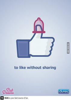 To like without sharing