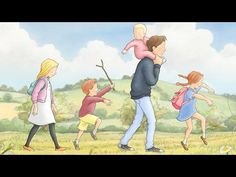 We're Going on a Bear Hunt | Animated | Picture Book | adaptation | - YouTube