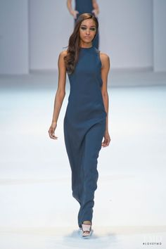 Photo feat. Jourdan Dunn - Guy Laroche - Spring/Summer 2013 Ready-to-Wear - paris - Fashion Show | Brands | The FMD #lovefmd
