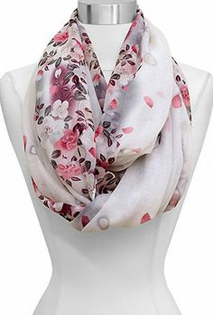 Maggie Infinity Scarf in Orchid