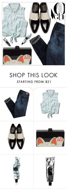 """OOTD 1104.16"" by martso on Polyvore featuring American Eagle Outfitters, Abercrombie & Fitch, Givenchy, Edie Parker, Aesop, outfit, look, ootd and fashionset"