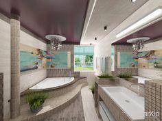 Ванная в средиземноморском стиле: интерьер, средиземноморский, квартира, дом, санузел, ванная, туалет, 10 - 20 м2 #interiordesign #mediterranean #apartment #house #wc #bathroom #toilet #10_20m2 arXip.com