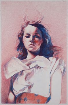 Color-pencil by Mercedes Helnwein