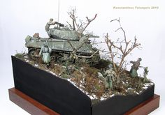 ''Rules of engagement'' diorama by Konstantinos Tsiompris