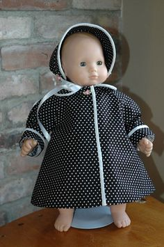 Coat and Cap for Bitty Baby Doll