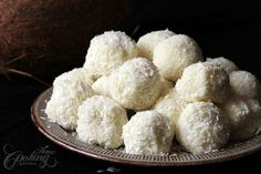 Easy white chocolate and coconut truffles recipe, smooth, delicious, melt in your mouth dessert. The truffles are perfect for dinner, holiday tables, or as gift.