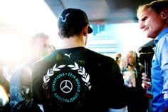 2014 Constructors World Champions Lewis Hamilton, F 1, Mercedes Amg, Chef Jackets, Champion, World, Fictional Characters, The World, Earth