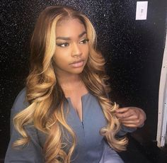 Honey Blonde Full Lace Human Hair Wigs Colored 360 Lace Frontal Wig Ombre Lace Front Human Hair Wigs Preplucked Lace Wig - Daily Buy Tips Honey Blonde Hair, Blonde Wig, Ash Blonde, Blonde Ombre Weave, Platinum Blonde, Blonde Shades, Silver Blonde, Golden Blonde, My Hairstyle