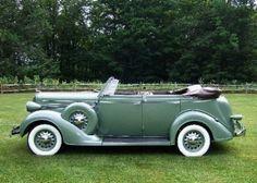 1936 Dodge D2 4 Door Convertible.