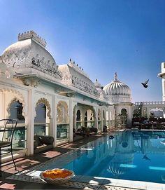 Classic cool at Udaipur India's Udai Kothi Palace Hotel. Good morning! // Travel Well #TravelFly! / #TravelFlyHotels