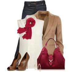 A fashion look from December 2013 featuring Equipment tops, Gucci jackets and J Brand jeans. Browse and shop related looks.