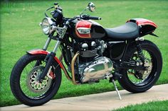 Triumph Thruxton by Mule Motorcycles