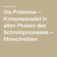 Die Prämisse – Kompassnadel in allen Phasen des Schreibprozesses – filmschreiben