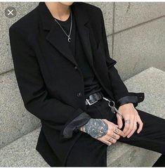 Moda Damska Jesien Zima Ideas For 2019 Dark Fashion, Grunge Fashion, Boy Fashion, Korean Fashion, Fashion Outfits, Fashion Clothes, Parisian Fashion, Bohemian Fashion, Style Clothes