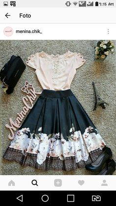 Beautiful for a walk in the park, or the city, whatever you're into. Modest Outfits, Classy Outfits, Skirt Outfits, Beautiful Outfits, Cool Outfits, Casual Outfits, Cute Fashion, Modest Fashion, Fashion Dresses