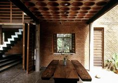 Venice Biennale Wall house / Anupama Kundoo, University of Queensland,Photographer Andreas Deffner Brick Architecture, Indian Architecture, Vernacular Architecture, School Architecture, Sustainable Architecture, Residential Architecture, Architecture Details, Architecture Magazines, Solano Benitez