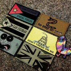 Special Forces, Airsoft, Patches, Design, Swat