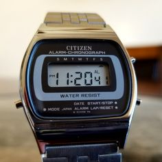 Retro Watches, Vintage Watches, Watches For Men, Casio Vintage Watch, Casio Watch, Nerd Chic, The Last Laugh, Seiko, Digital Watch