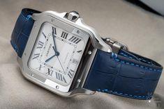 High-end Watches – Luxury Watches – Watches infos & News Cartier Santos, Gentleman Watch, Cartier Panthere, High End Watches, Expensive Watches, Luxury Watches For Men, Unique Watches, Square Watch, Rolex Watches