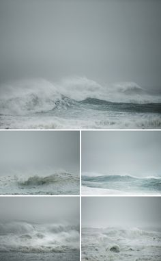 """pausesbetweenthought: """"Nature is like that… 'Emotional'. (by Simon Harsent - Hurricane Irene) """""""