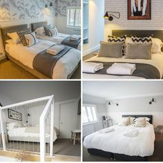 Some of the restful and inviting guest house bedrooms created by one of our Interior Design customers last year.  #interiordesign #custommade #bespokebeds #luxurybeds #bedroomdecor #goodnightssleep #guesthouseinteriors Reposted Via @robinsonsbeds
