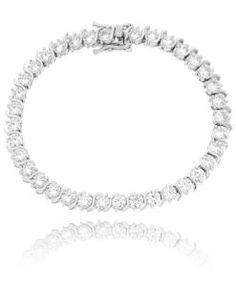 pulseira riviera cristal da moda com banho de rodio semi joias da moda