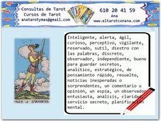 Los Menores del Tarot: SOTA DE ESPADAS Tarot Significado, Tarot Gratis, Tarot Reading, Tarot Cards, Witches, Books, Spirituality, Study, Tarot Decks