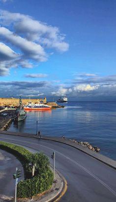 Port of Rhodes Island, Greece | by dimitris koskinas