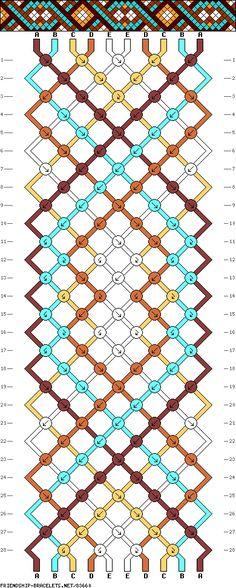 #83660 10 Strands, 5 Colors, 2ea  - friendship-bracelets.net