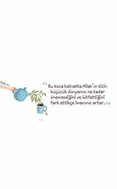 Maneviyat 🙏🙏🙏 - GülAnı Yıldız - #GülAnı #Maneviyat #Yıldız Turkish Lessons, Good Sentences, Believe In Miracles, Perfect Word, Allah Islam, I Want To Know, Arabic Words, Meaningful Words, Islamic Quotes