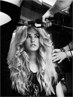 Nguyên tắc để có mái tóc xoăn óng mượt