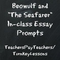 real world beowulf essay prompt using mentor texts about beowulf real world beowulf essay prompt using mentor texts about beowulf beowulf informational texts blog post lesson ideas essay prompts and