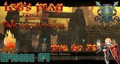 Starting the campaign & New area: Ebon Downs! - Neverwinter Xbox one pal...