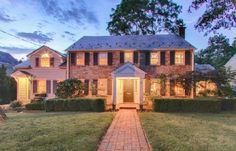 Classic Brick Front Center Hall Colonial on almost an acre of land near town with 6 Bedroom/4.1 Baths. Listed by @townerealtynj  www.29Beekman.com