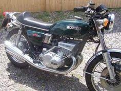 Suzuki GT550 sick power. 2 stroke 550 cc