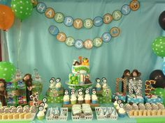 Mimi P's Birthday / Baby Safari - Photo Gallery at Catch My Party Safari Theme Birthday, Jungle Theme Parties, Baby Boy 1st Birthday, Safari Party, 6th Birthday Parties, Baby Birthday, Birthday Ideas, Jungle Party, First Birthdays