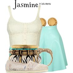 """Jasmine"" by sofiaamorena on Polyvore"