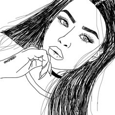 Hey everyone just sayin I tried to do one of these line drawing things that are super cute and everywhere and yeh here it is my first one, it's not perf but plz show some love and spread it around bc yeh it went better than expected- ly lots thank youuu    @tessrainbow✨