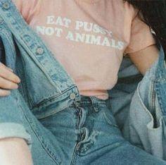 eat pussy not animas shirt