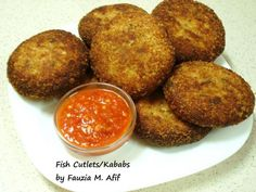 Perfectly crispy fish cutlets/fish kababs, with a deliciously spicy andflavourfultaste.