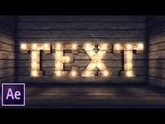 After Effects Light Bulb Kit Tutorial - YouTube