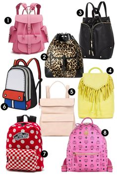 This spring, make a statement with bright accessories. Shop these 8 backpacks and 8 other purse trends this season.