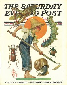 Bugs  June 4, 1932  J. C. Leyendecker     Saturday Evening Post