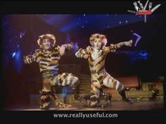 """""""Mungojerrie and Rumpelteazer"""" musical number from the movie version of Andrew Lloyd Webber's """"CATS"""""""