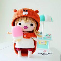 Mesmerizing Crochet an Amigurumi Rabbit Ideas. Lovely Crochet an Amigurumi Rabbit Ideas. Kawaii Crochet, Cute Crochet, Crochet Crafts, Crochet Dolls, Crochet Projects, Amigurumi Patterns, Amigurumi Doll, Crochet Patterns, Anime Crafts