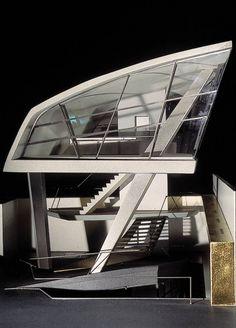 Zaha Hadid (1950 – 2016) | Tomigaya Building | Tokyo, Japan | 1986 | http://www.zaha-hadid.com