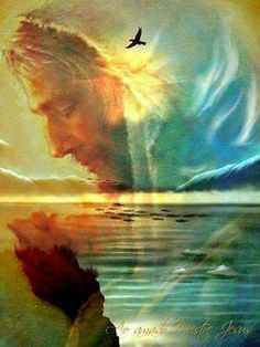 Jesus, the Son of the Living God, is forever interceding for you, His beloved child. Images Du Christ, Pictures Of Jesus Christ, Religious Pictures, Image Jesus, Jesus Painting, Prophetic Art, Biblical Art, Jesus Is Lord, Christian Art
