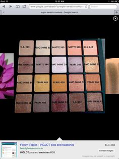 Very pretty Inglot palette